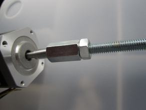 Yet another low-cost leadscrew coupling