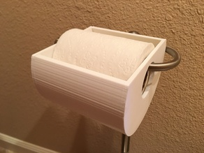 Toilet Paper Protector (from kittens)