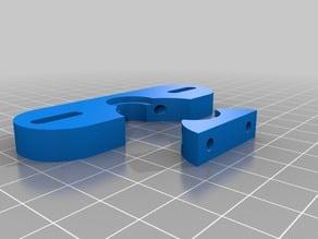 E3D Bowden adapter for MakerFarm i3V
