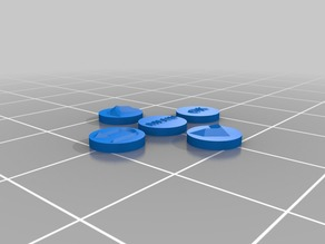 Anet A8 Button Overlays