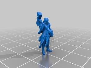 Humanoid Paladin Miniature