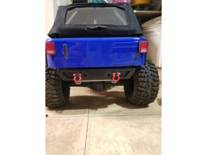 SCX 10 Axial Rubicon bumper and mount.