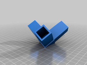"Corner Bracket for 1"" Square Aluminum Extrusions"