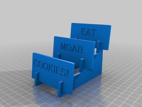 Cookie Holder Tray