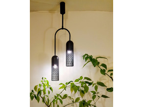 Modern Double Pendant Lamp