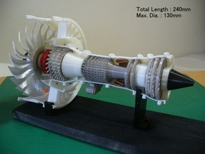 Jet Engine, Geared Turbofan (GTF)