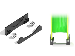 RollerBars - Mini Filament Rollers for 625 bearings