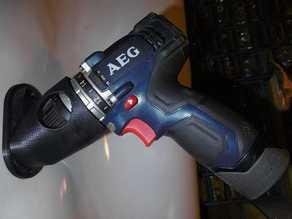 Wall Mount cordless drill AEG