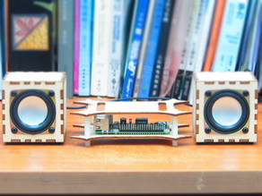 Laser Cut Raspberry Pi Mini HiFi