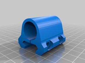 Picatinny mount for Mini Maglite