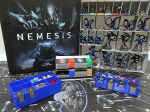 Nemesis Board game Box Organizer