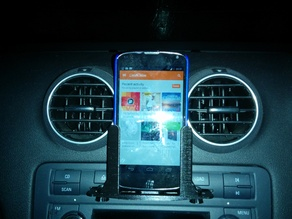 Car CD stereo phone bracket