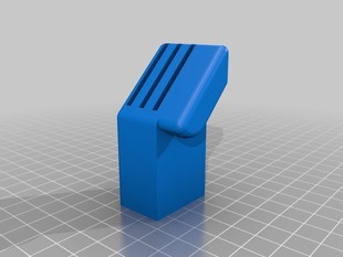 SD Card Holder for Replicator 2 - Deeper Slots