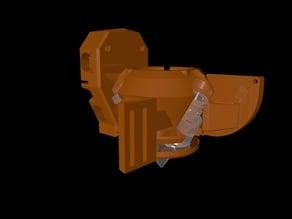 Anet A8 Diamond Hotend Holder Diamond head to Anet A8 mounting