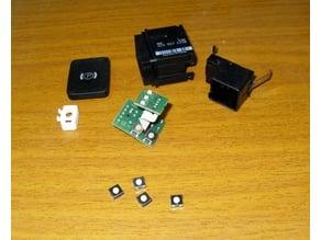 Passat B6 key led