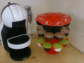 Porta cialde a piani dolce gusto nescafe krups capsule coffee