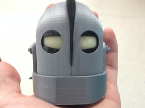 Iron Giant Head