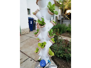 Modular Hydroponic Tower Garden