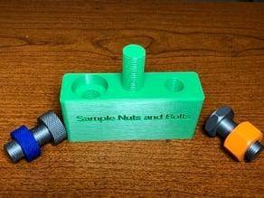 Nut and Bolt Sampler