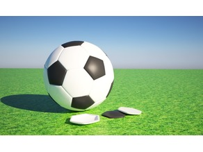 3D Printed Football / Soccer Ball