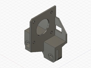 Direct extrusion mounter with stock parts for Ender3