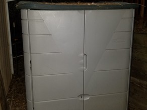 RubberMaid shed latch