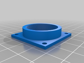 CS lens mount adapter for use with Raspberry PI autoguider (or other uses)