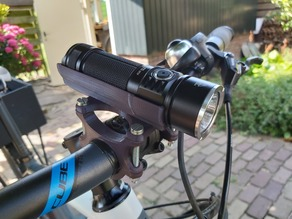 flashlight bike mount sofirn sp33