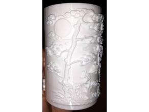 Chinese Vase BIQU Magician Sample print