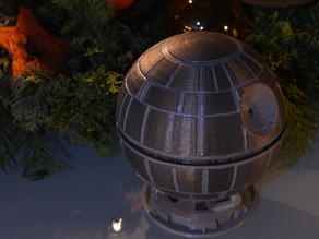 Death Star christmas decoration