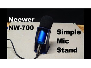 Neewer NW-700 Simple Mic Stand