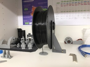Spool Holders for Balco 3D Touch/Wanhao Plus/Maker select etc. (53/57mm width)