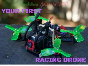 Eachine Aurora 100 FPV Racing Quad Upgrade Kit & Mods: YOUR FIRST DRONE