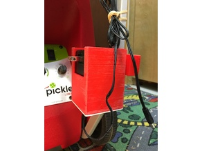 Charger Holder for Pickleball machine by Lobster