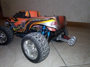 Whellie wheels bar Hsp Brontosaurus whell Monster Truck 1/10