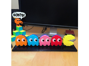 PACMAN CHASER mechanical toy