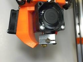 E3D V6 Cooling Fan Duct for 30mm fan
