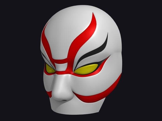 Big Hero 6 Yokai Mask By Jtm Thingiverse