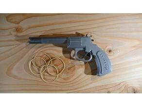 """Pistolet lance élastique """"Elastic gun"""""""