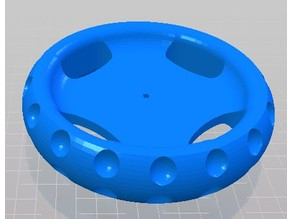 Wheel designed to work with Vex parts
