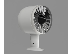 Turbofan Desk Fan
