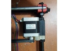 Prusa i3 Y-Carriage motor mount / aligner / base bearing