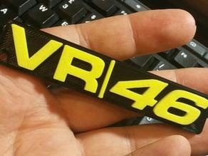 VR46 Keychain