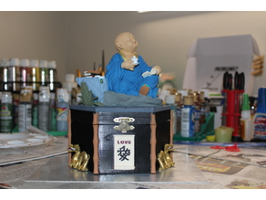Hex Box Little Monk