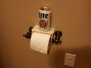 Beer Buddy - Toilet Paper Shelf!