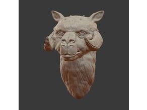 tauntaun head mount version 2