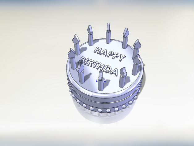 Birthday Cake Customize