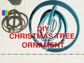 Christmas tree ornament spinner single / dual color + VIDEO