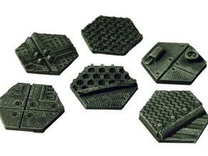Wargaming bases: 30mm hex bases