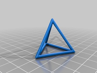 Wireframe Triangle